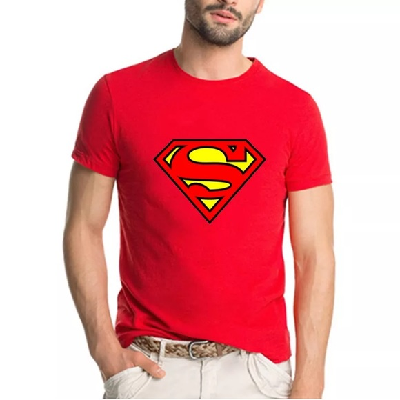 9c4d6565 DC Comics Shirts | Superman Logo Mens Tshirt | Poshmark